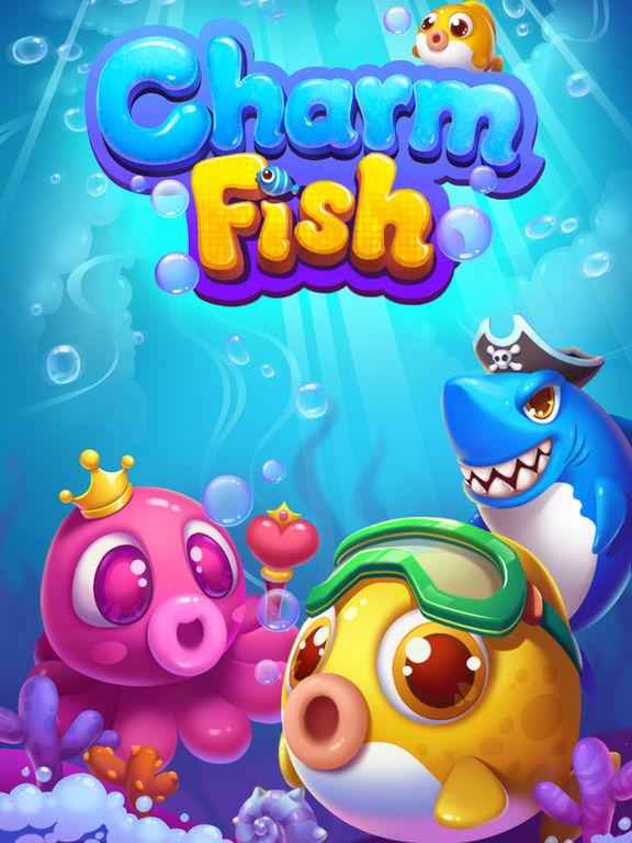 App shopper charm fish quest ocean match 3 mania games for Fish mania game