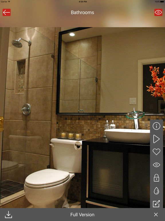 App shopper bathroom design ideas home bath room for Bathroom decor catalogs