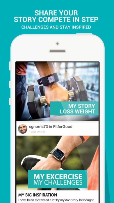 Community for Fitbit Alta: Devices, Health Apps free for iPhone/iPad screenshot