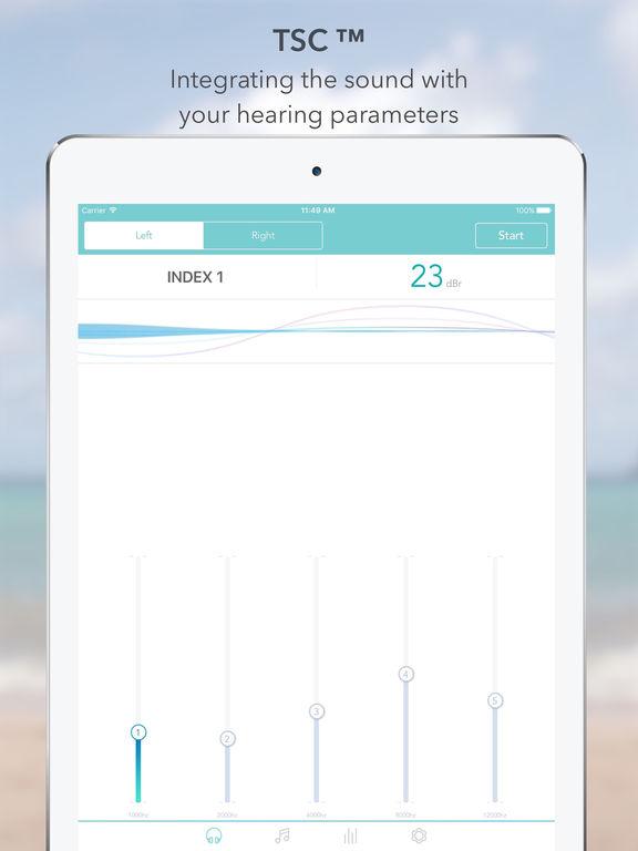 TSC Music: Equalizer Balance - New Way of Hearing Screenshot