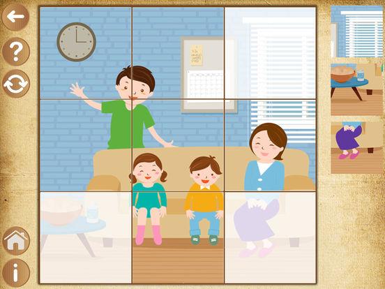 Детские игры для девочек - пазлы для малышей детей Скриншоты4