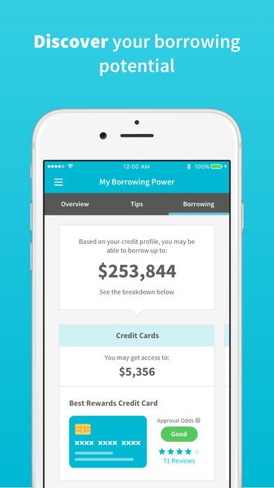 credit sesame instant credit score alerts on the app store. Black Bedroom Furniture Sets. Home Design Ideas