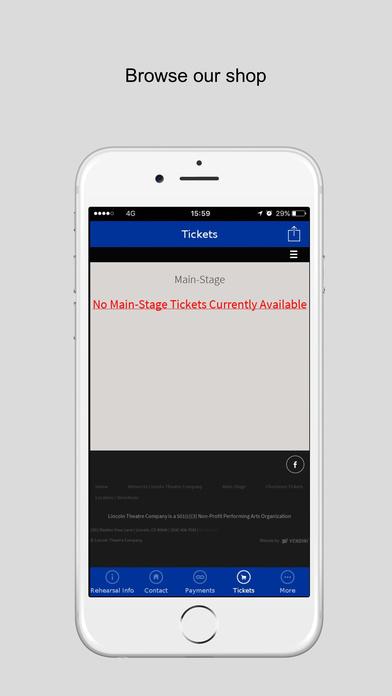 App Shopper Lincoln Theatre Company Entertainment