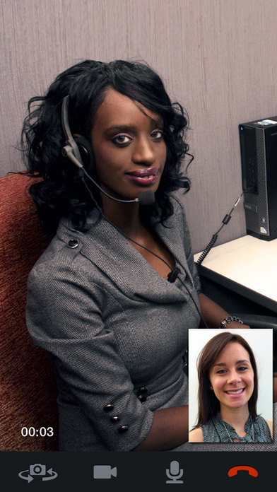 CyraCom Medical Interpreter iPhone Screenshot 1