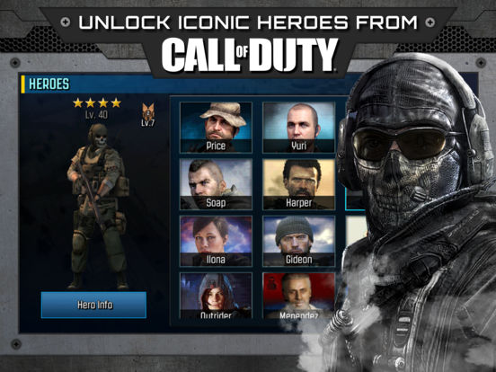 Call of Duty®: Heroes Screenshots