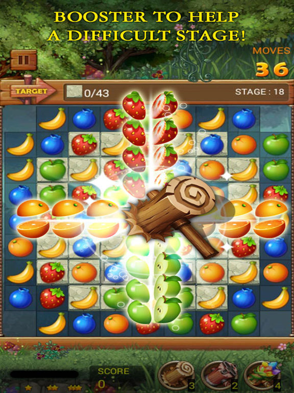 Фруктовый лес: Радужное яблоко Скриншоты8