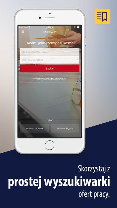 Pracuj.pl – oferty pracy iPhone Screenshot 1