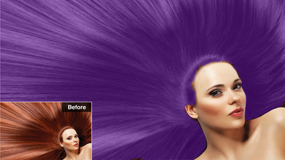 Screenshots of Color Changer - Change Hair Style & Recolor Eye for iPhone