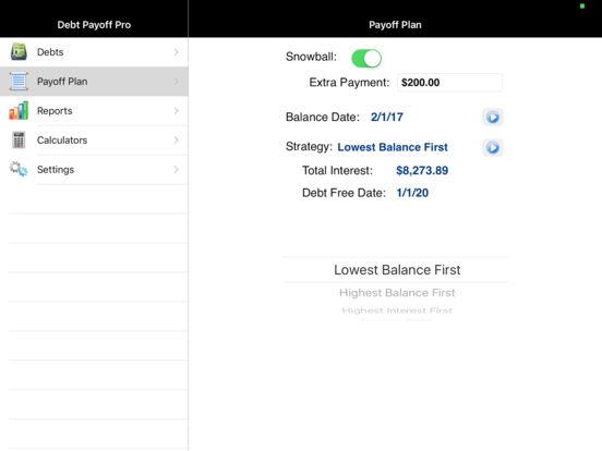 Debt Payoff Assistant screenshot 9