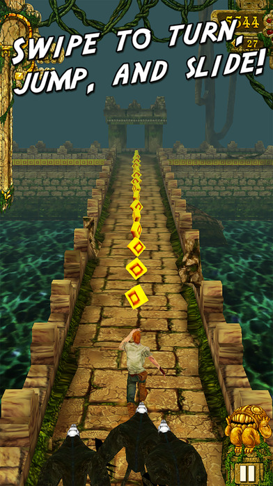 Temple Run iPhone Screenshot 1