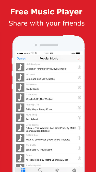 Music Cloud Pro - Unlimited Song.s Player Streamer screenshot 3