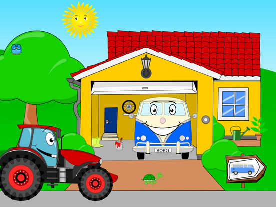 Bobo Garage - Car Games for Toddlers, Babies 1-2-3 Screenshots