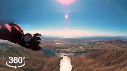 VR Skydiving Pro screenshot for iPhone