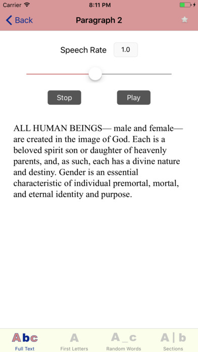 LDS Memory: Articles of Faith (AF) iPhone Screenshot 4