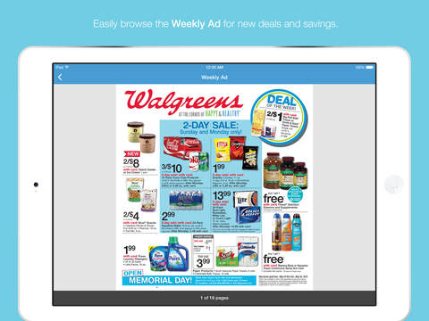 Walgreens screenshot 3