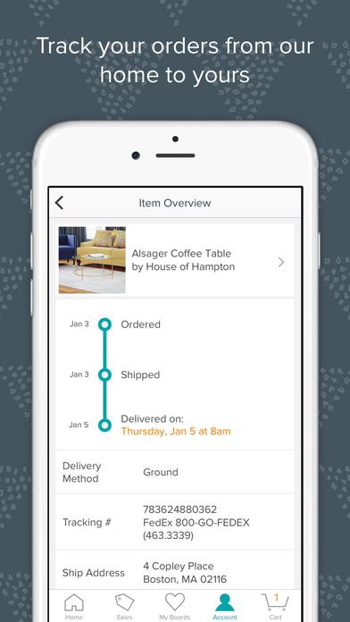Allmodern Shop Modern Furniture And D Cor App Download
