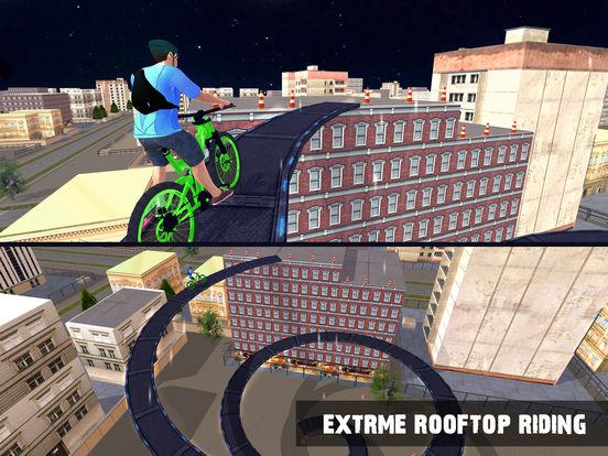 Скачать Rooftop Bicycle Stunts Simulator 2017