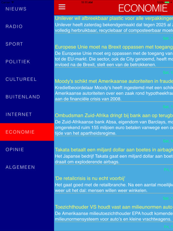 Dutch news & radios Screenshots