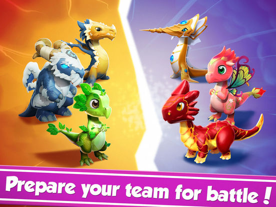 Dragon Mania Legends: Dragon Breeding Gamescreeshot 2