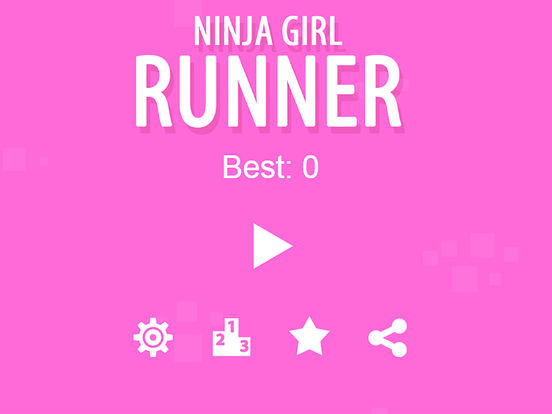 Ninja Girl Runner Pro Screenshots