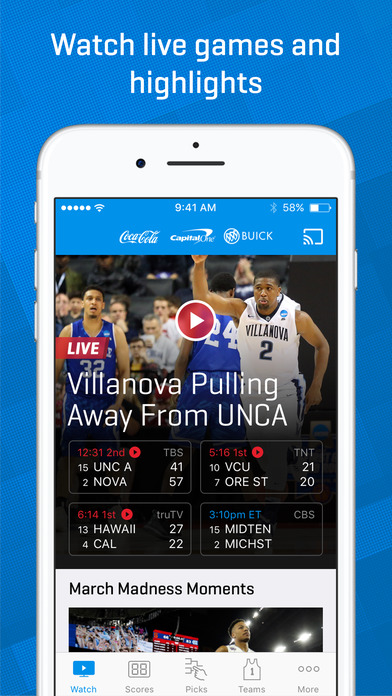 NCAA March Madness Live - Men's College Basketball screenshot