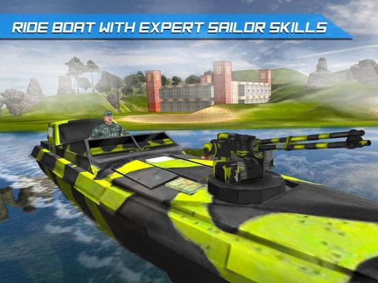 Скачать игру Армия Лодка Море Пограничный патруль - Современная