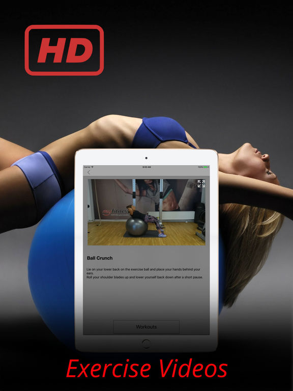 Gym Ball Exercises Bosu Workouts Training Routine Screenshots