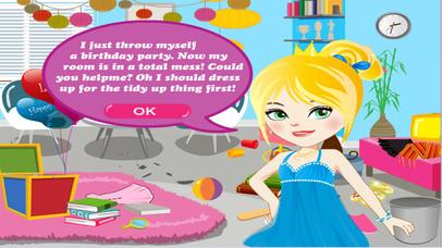 Screenshot 1 العاب تنظيف بيت الاميرة صغيرة — العاب بنات