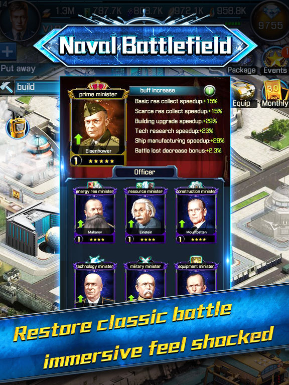 Screenshot #3 for Naval battlefield:Domination the Oeacn