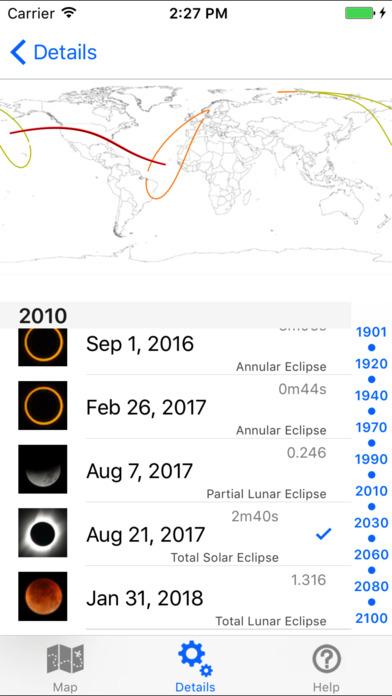 circa - Solar Eclipse Calculator iPhone Screenshot 3