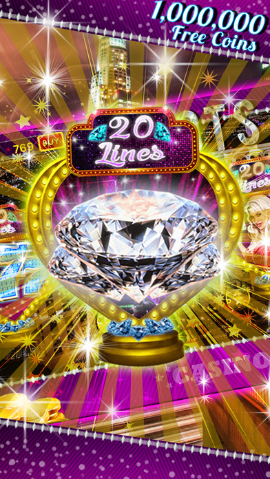 Screenshot 2 Lucky Diamond Casino: 777 Free Slots, Poker & More