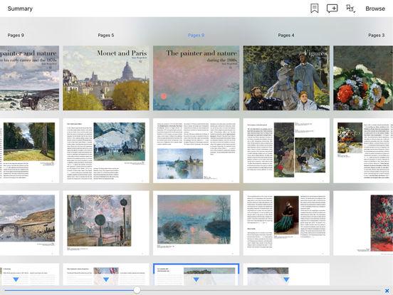 The Monet album : the e-album of the exhibition iPad Screenshot 4