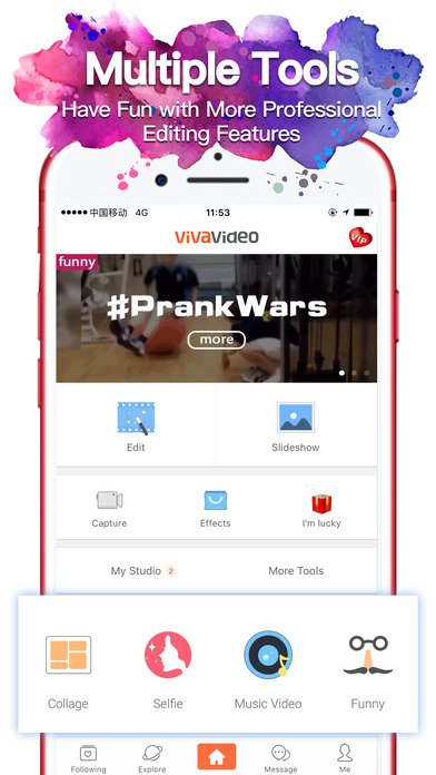 VivaVideo - Best Video Editor & Photo Movie Maker app image