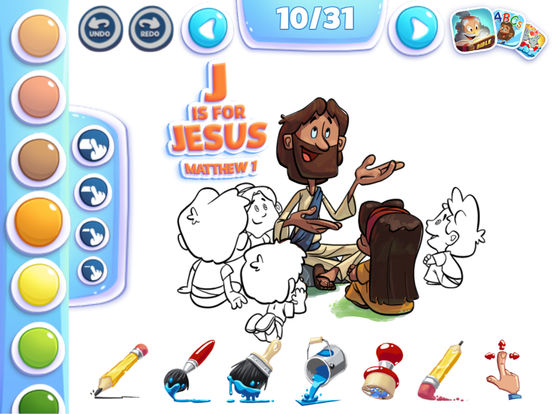 Bible Coloring for Kids Скриншоты5