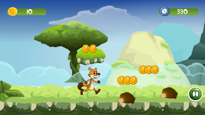Mr Fox Jungle - Running World Kids Adventure Game screenshot 4