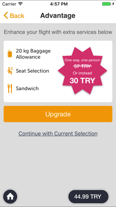 Pegasus Airlines - Cheap Flights screenshot