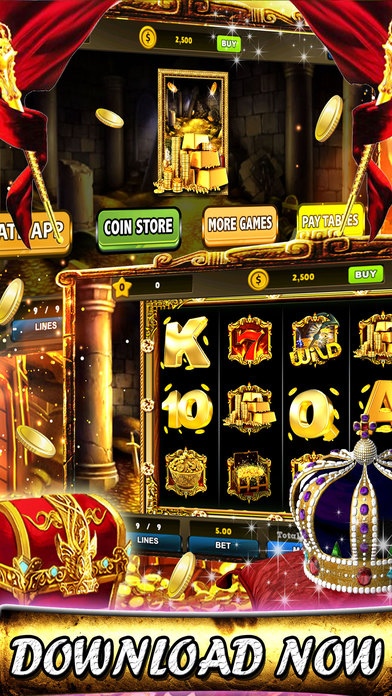 Screenshot 2 Golden 7's Jackpot slots – City of secret chest