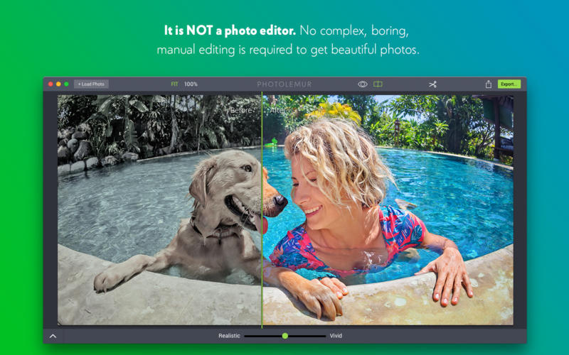 Photolemur - Photo Enhancement on Autopilot Screenshots