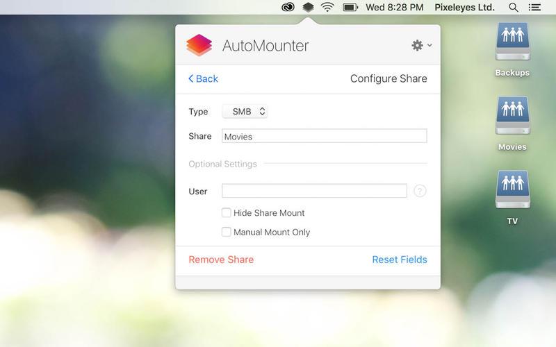 AutoMounter Screenshots