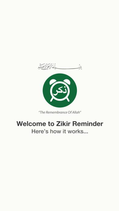 Zikir Reminder for Apple Watch screenshot 1