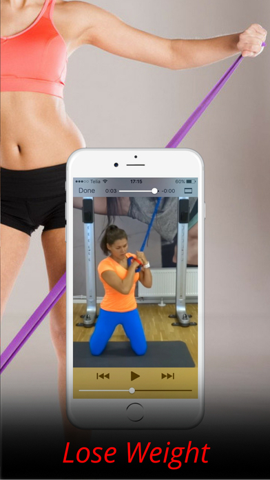 Resistance Band Exercises and Workout Routine Screenshots