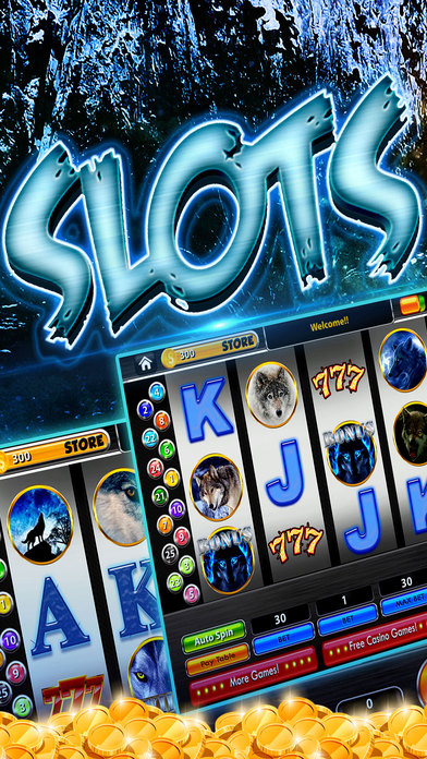 Screenshot 1 Wolf Alaska Casino – Wild win slot machines