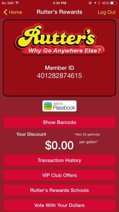 Rutter's Store Finder iPhone Screenshot 5