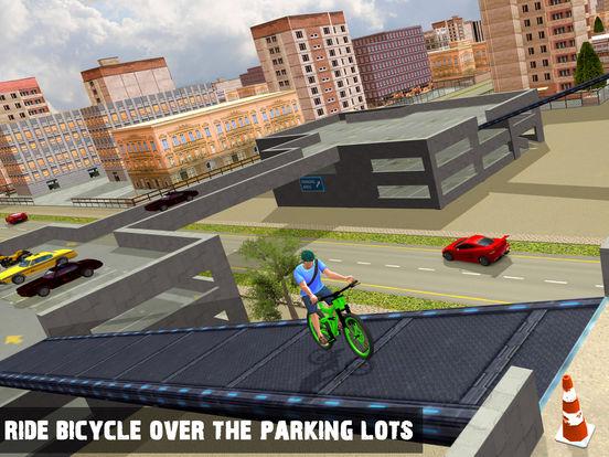 Rooftop Bicycle Stunts Simulator 2017 на iPad