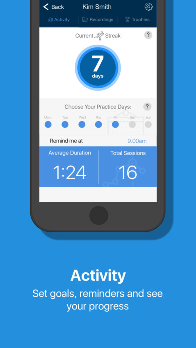 Orai - Improve Your Speech Content and Delivery Apps free for iPhone/iPad screenshot
