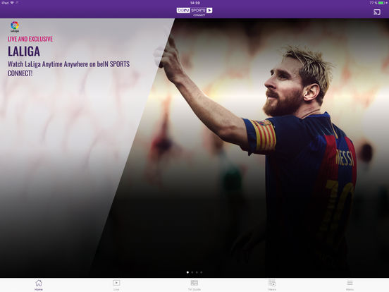 beIN SPORTS CONNECT screenshot 4