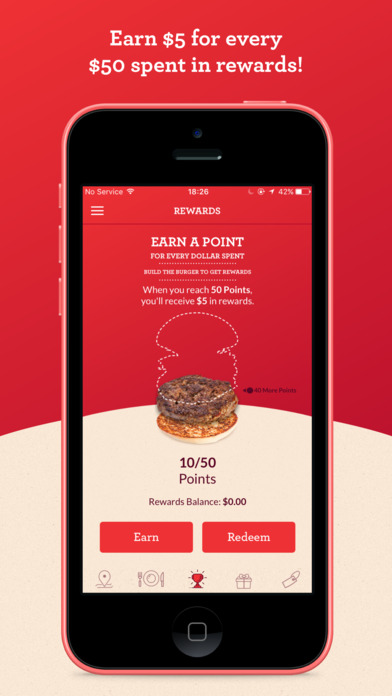 Grub Love by Grub Burger Bar Apps free for iPhone/iPad screenshot