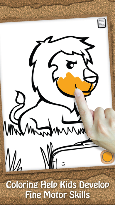 Paint & Play Animal Planet, Coloring Book For Kids iPhone Screenshot 4