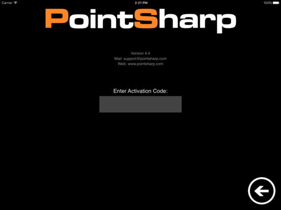 PointSharp iPad Screenshot 2