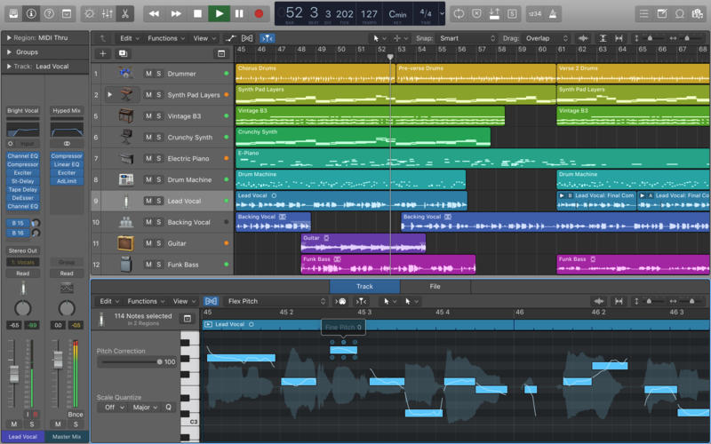 音乐制作软件 Logic Pro X for Mac